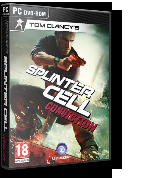 Обложка Tom Clancy's Splinter Cell: Conviction (2010/MULTI9)
