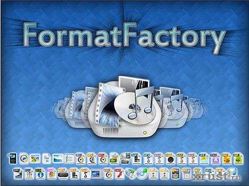 Format factory (converter audio-video) [RUS] 2009 PC