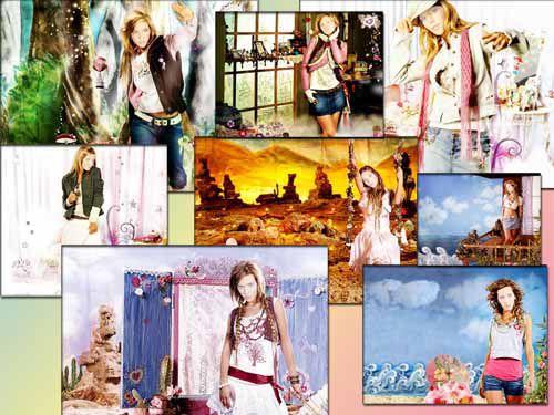 Шаблоны для Фотошоп - Волшебная страна (Шаблоны)