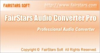 FairStars Audio Converter Pro 1.22 (2010) [ENG] PC
