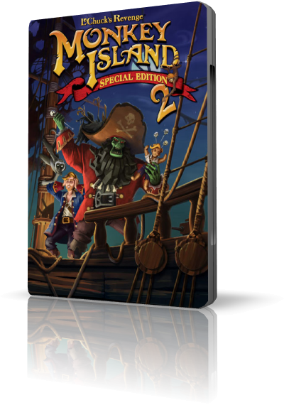 Monkey Island 2 Special Edition: LeChuck's Revenge (LucasArts Entertainment) (Multi5) [L]