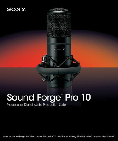 Sony Sound Forge Professional 10.0b Build 474 (2010) RUS PC