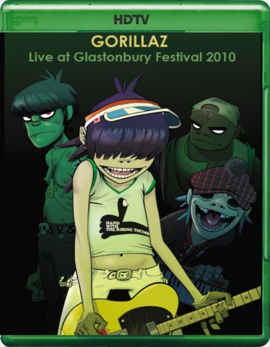 Gorillaz Live at Glastonbury Festival (2010) HDTV 720p