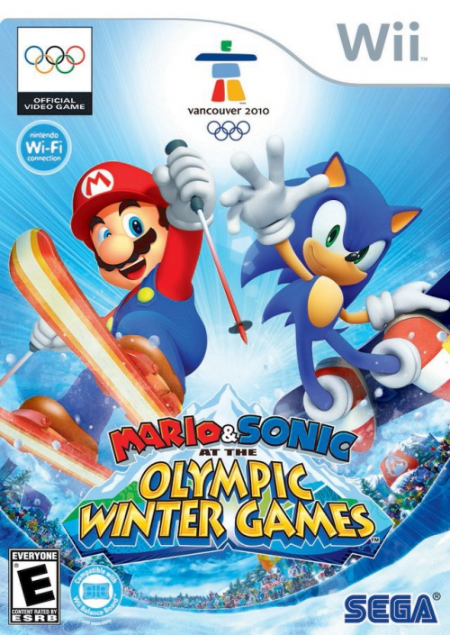 Mario & Sonic at the Winter Olympic Games [PAL] [Wii]