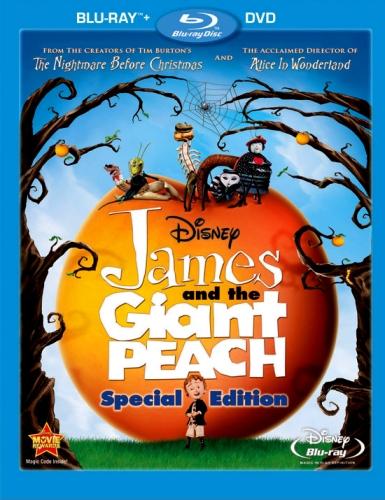 Джеймс и гигантский персик смотреть онлайн
