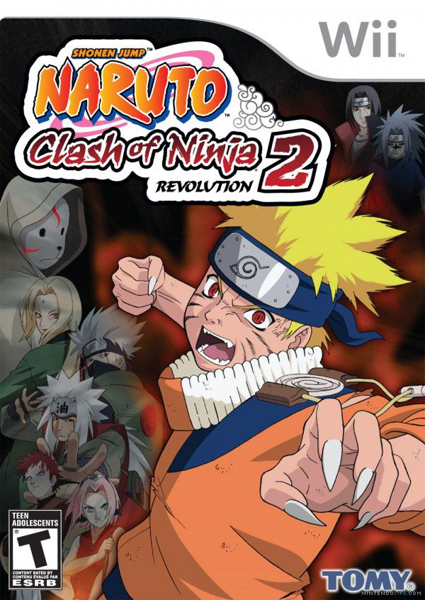 Naruto Clash Of Ninja Revolution 2 (2009/Nintendo Wii/PAL/MULTI)
