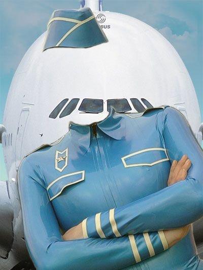 Шаблон для фотошопа - знаменитые летчики