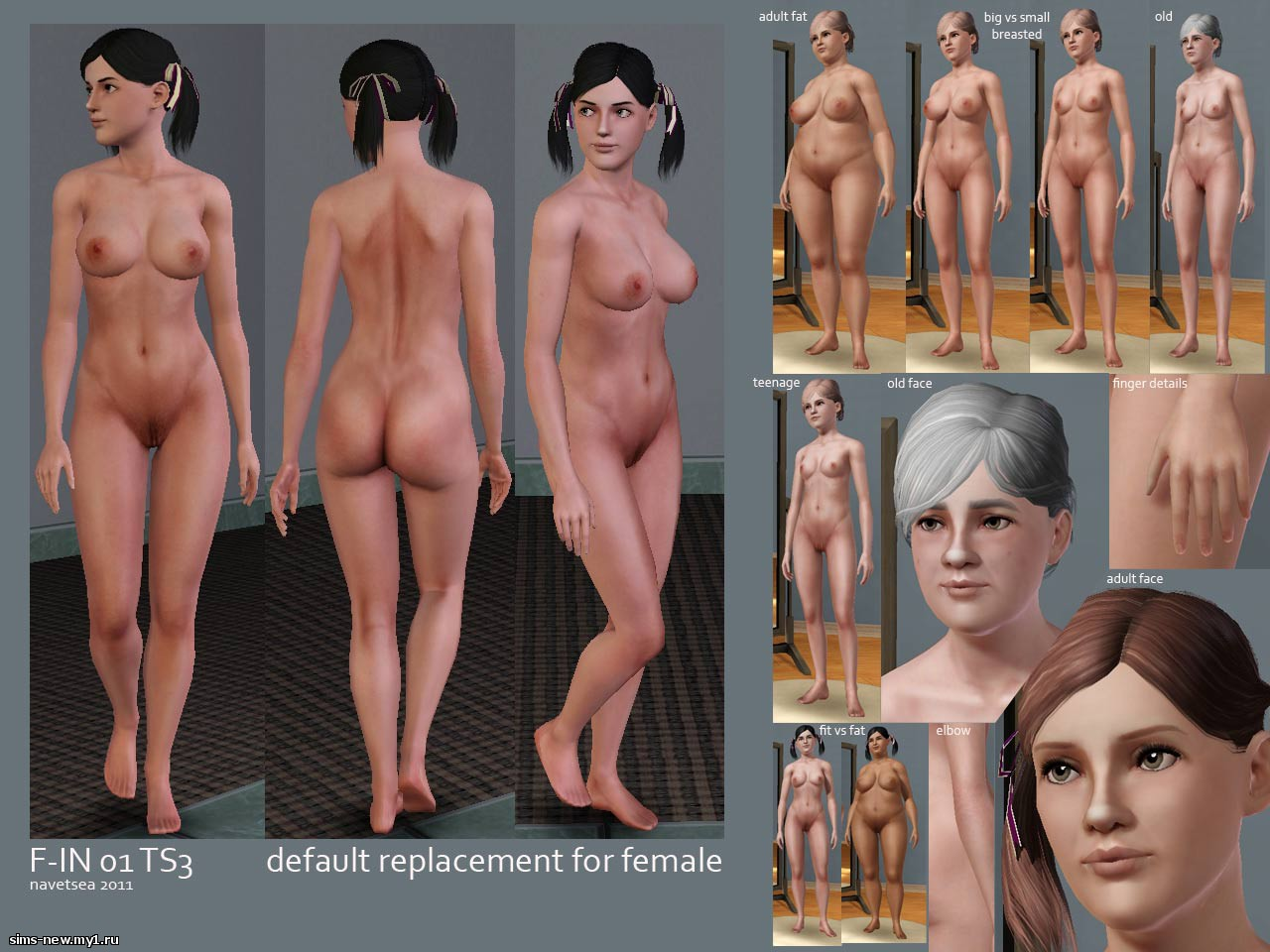 The sims 3 nude sex patches uncensor  naked video