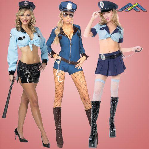 Растровый клипарт для фотомонтажа Девушки из полиции