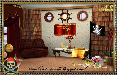 Комната пирата от Astra