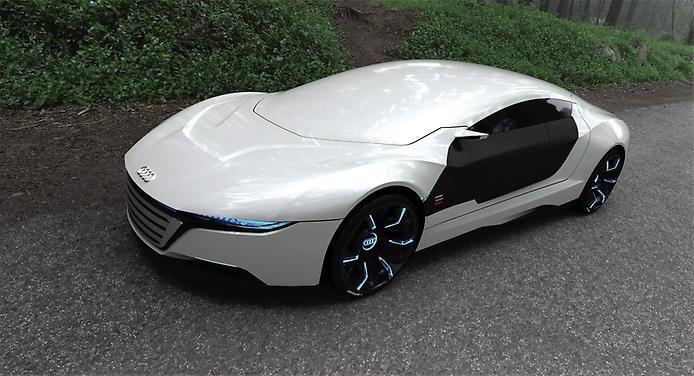 Концепт Audi A9 от Daniel Garcia