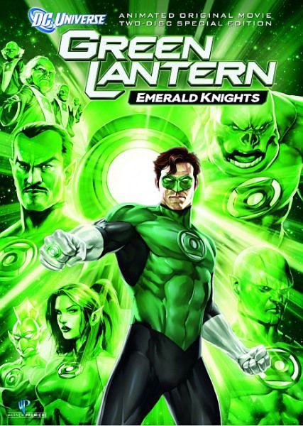 Зеленый Фонарь: Изумрудные рыцари / Green Lantern: Emerald Knights (2011/HDRip/DVD5/DVDRip/1400Mb/700Mb)