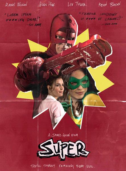 Супер / Super (2010/Scr)