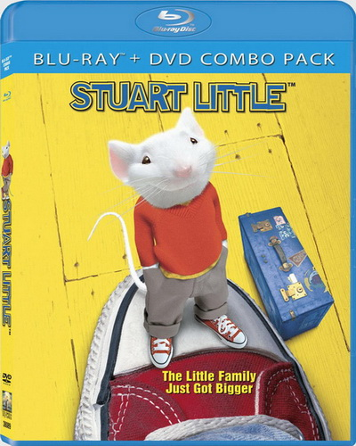 Стюарт Литтл / Stuart Little (1999) BDRip 1080p