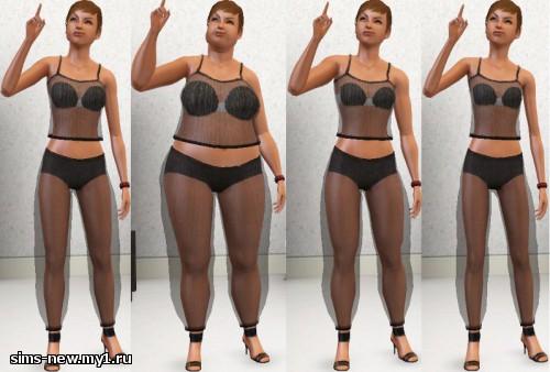 Прозрачная женская одежда