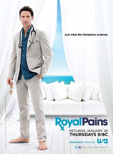 Пациент всегда прав (Дорогой доктор) / Royal Pains (3 сезон / 2011) WEB-DLRip