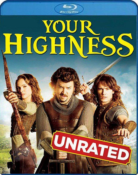 Храбрые Перцем / Your Highness (2011) Blu-ray + BD Remux + BDRip 1080p / 720p + HDRip