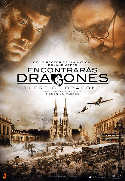 Там обитают драконы / There Be Dragons (2011/HDRip/2100Mb/DVDRip/1400Mb)