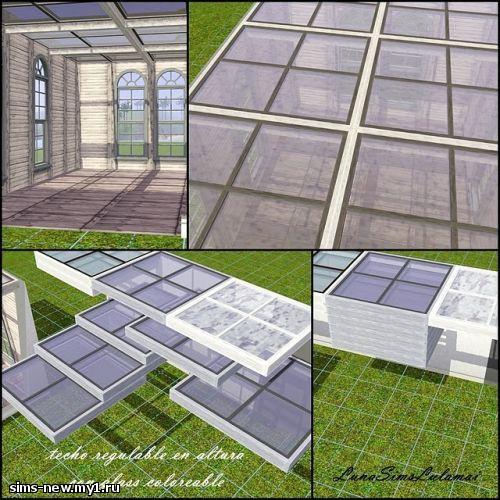 Как сделать прозрачную крышу в симс 3 - FormaGotova :: Готовые советы от умельцев