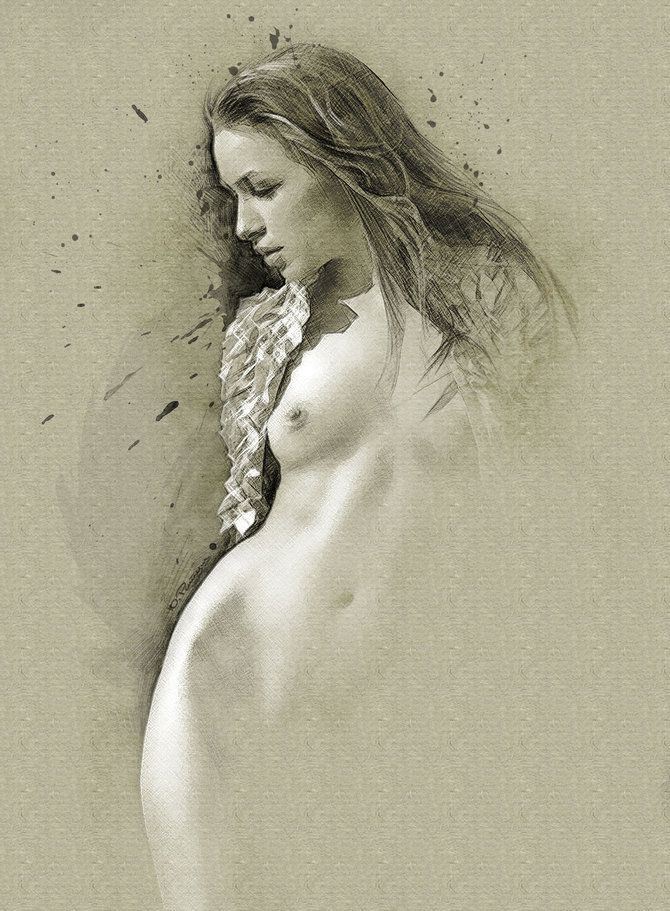 Рисунки Юрия Ратуша