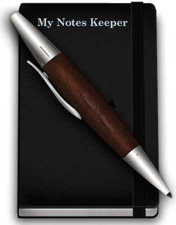My Notes Keeper 2.2.6.1253 [Eng+Rus] & Portable