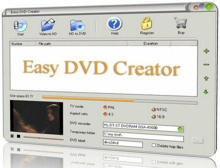 Easy DVD Creator 2.4.3 [Eng+Rus]