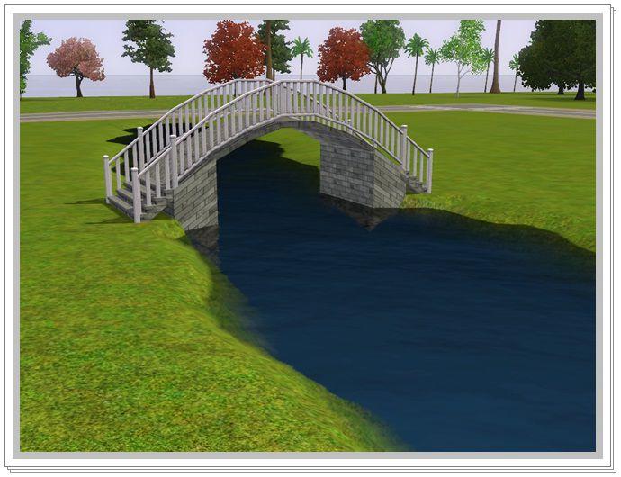 Как в симс 3 сделать арочный мост