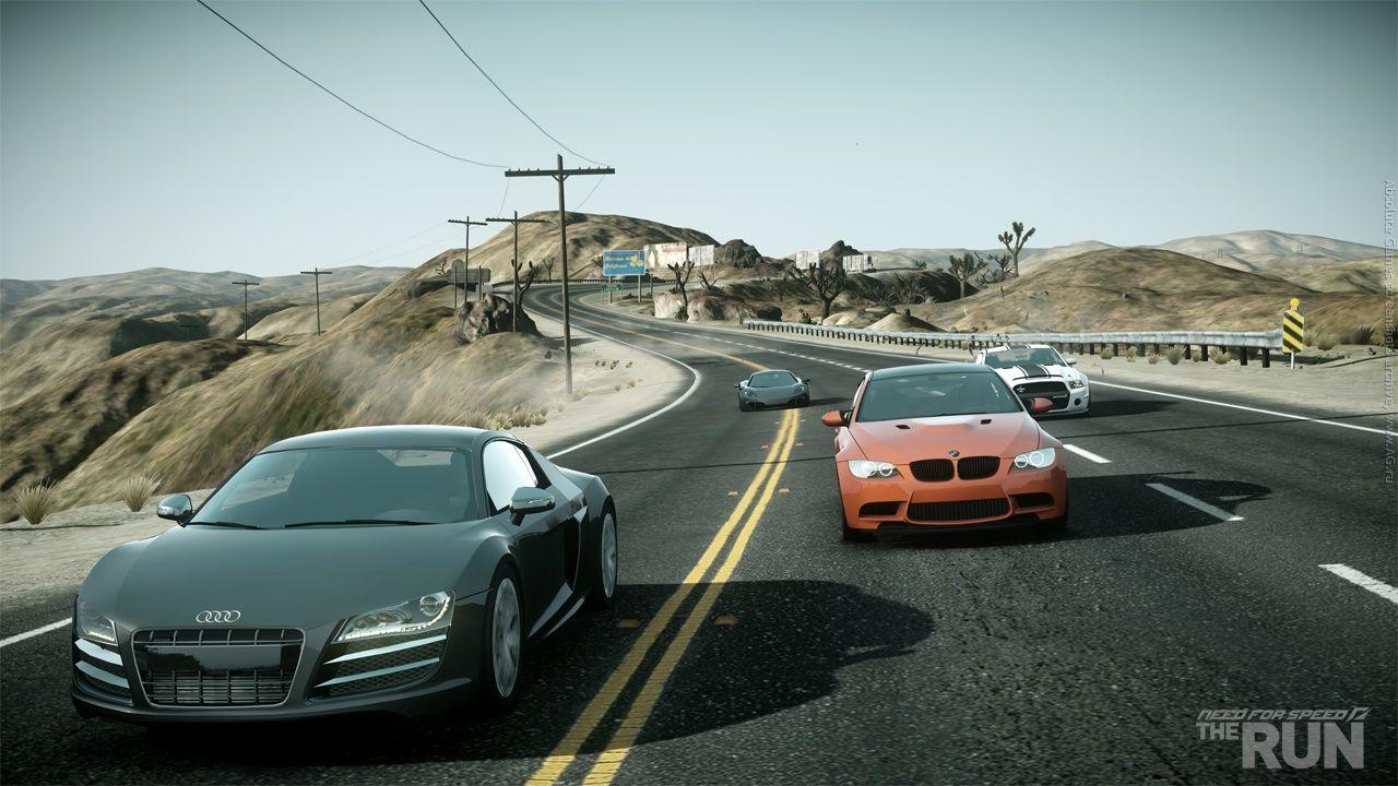 Need for Speed The Run - гоночные состязания, ставка в которых