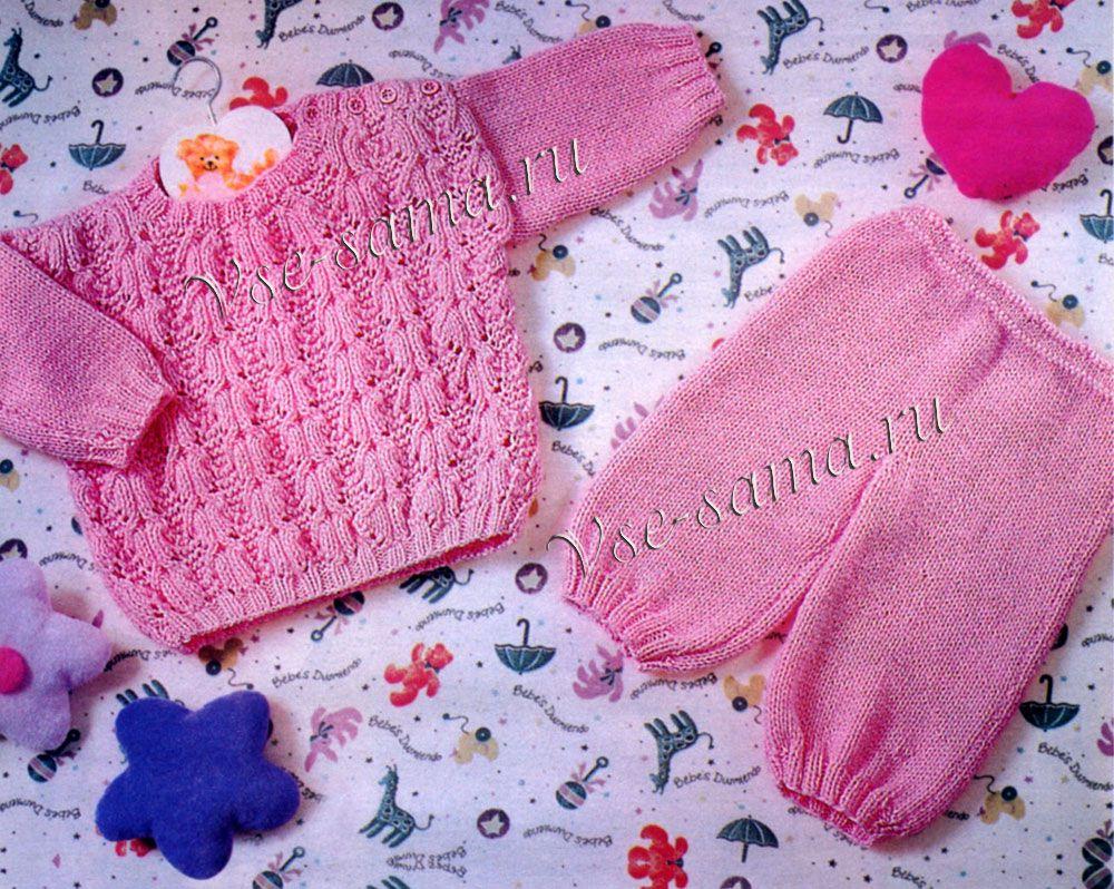 одежда для девушек штанишки спицами как вязать