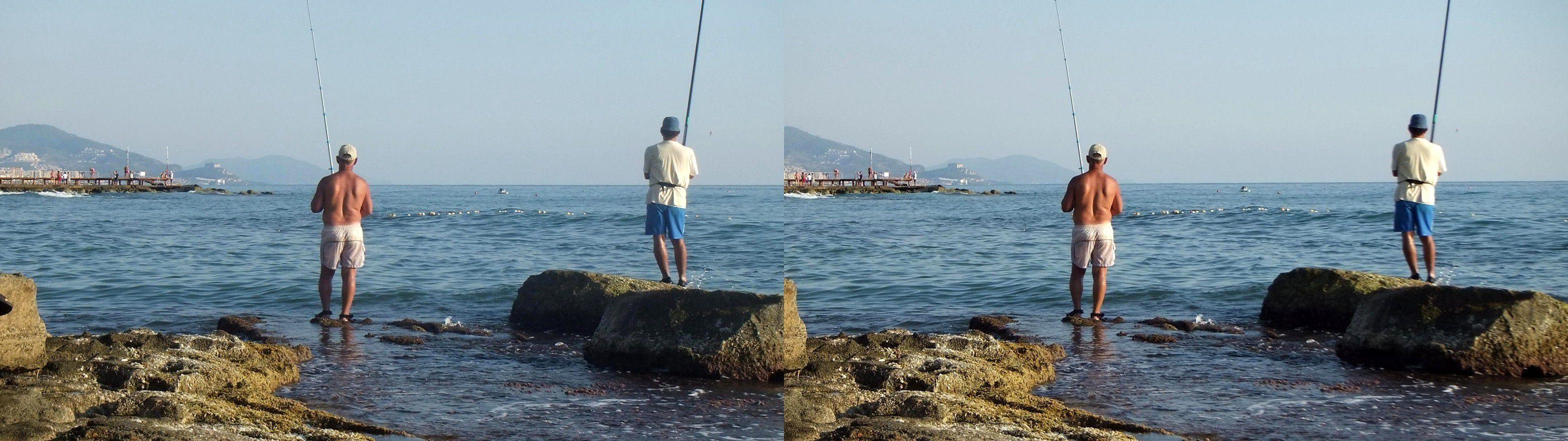 рыбу ловить на море в испании