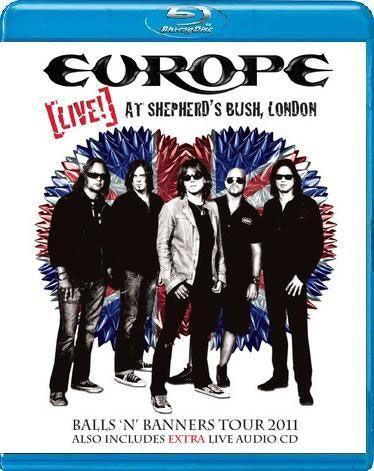 Europe - Live! At Shepherd's Bush, London (2011) Blu-ray