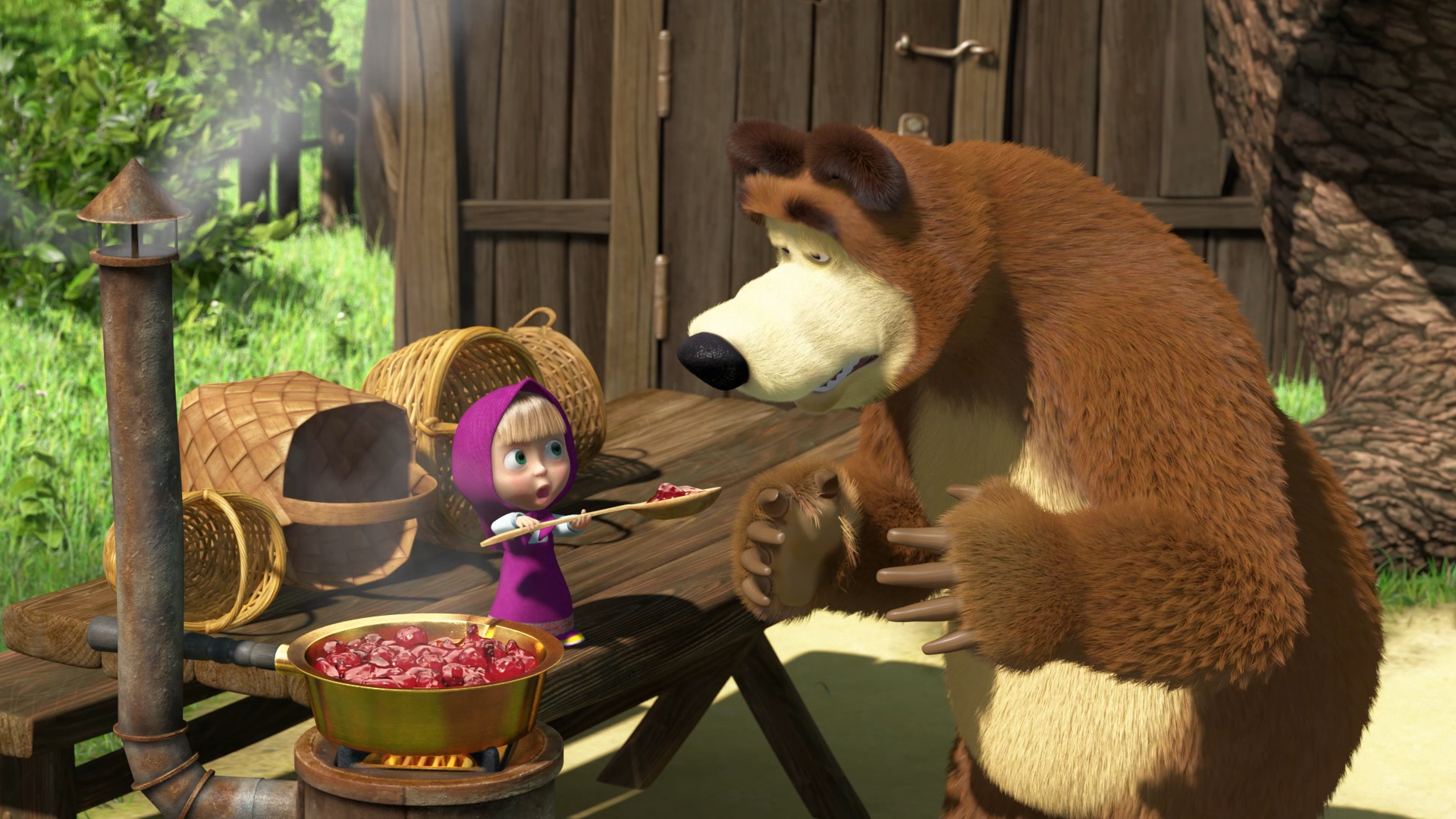 Песни из мультфильмов маша и медведь скачать