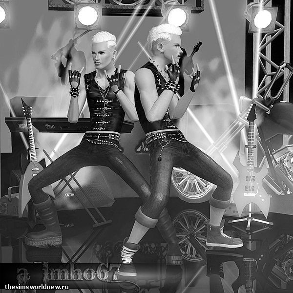sims 3. Poses - We Will Rock You by IMHO (4).jpg