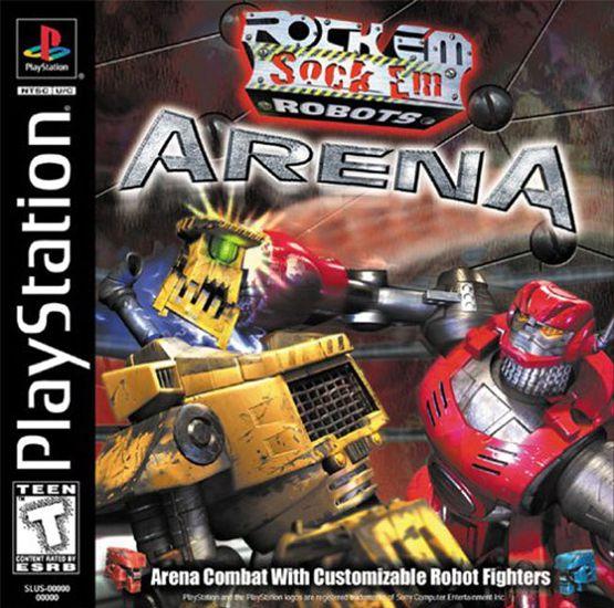 Rock 'Em Sock 'Em Robots Arena (2000/ENG/PSone)