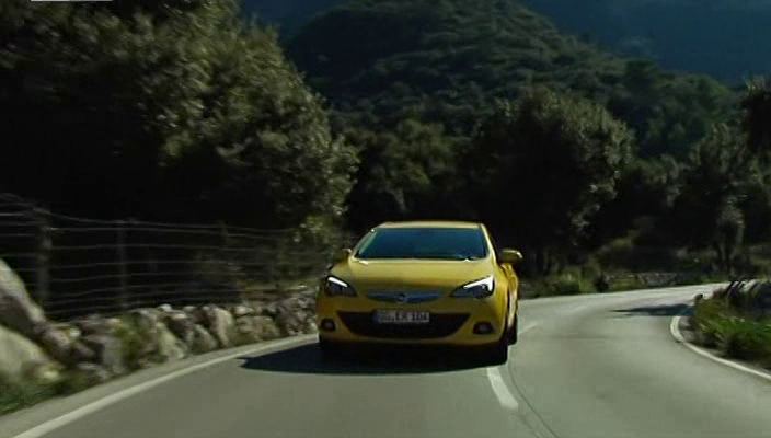 Opel Astra GTC New Тест драйв