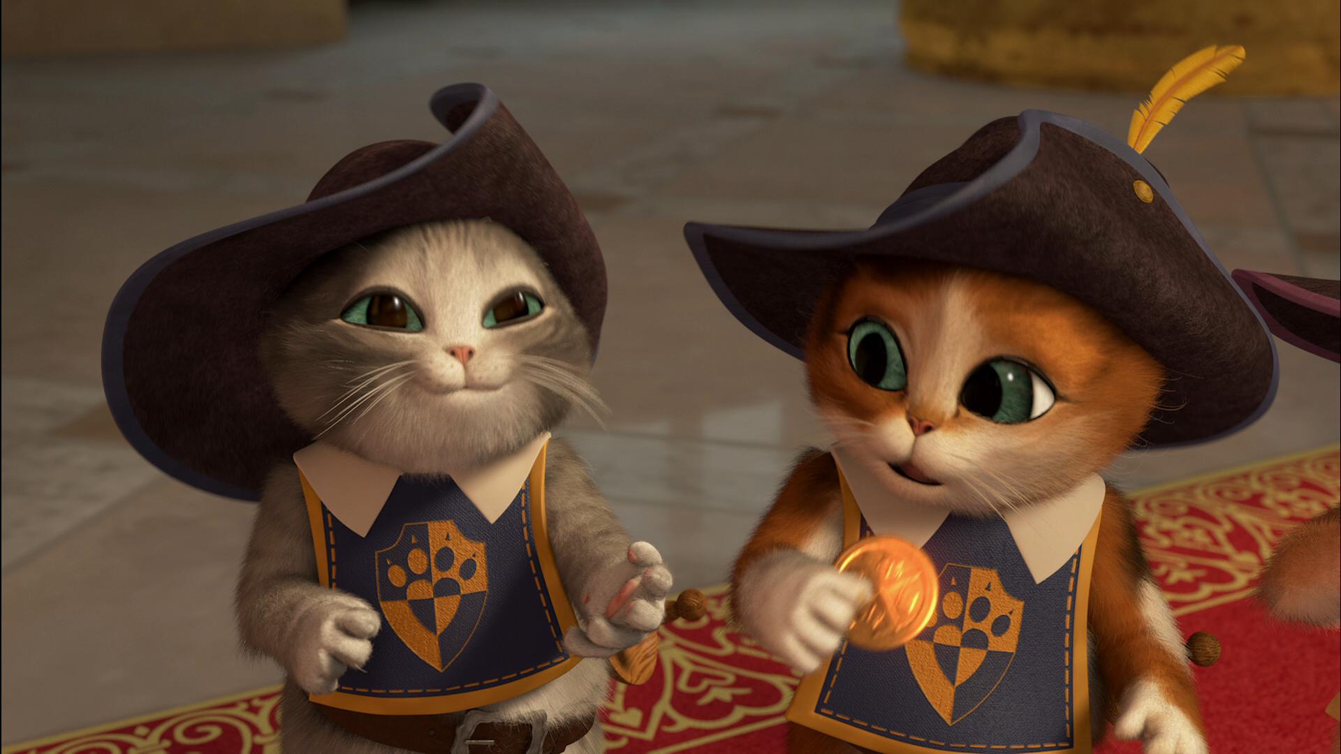 Смотреть мультфильмы кот в сапогах три чертенка полная версия