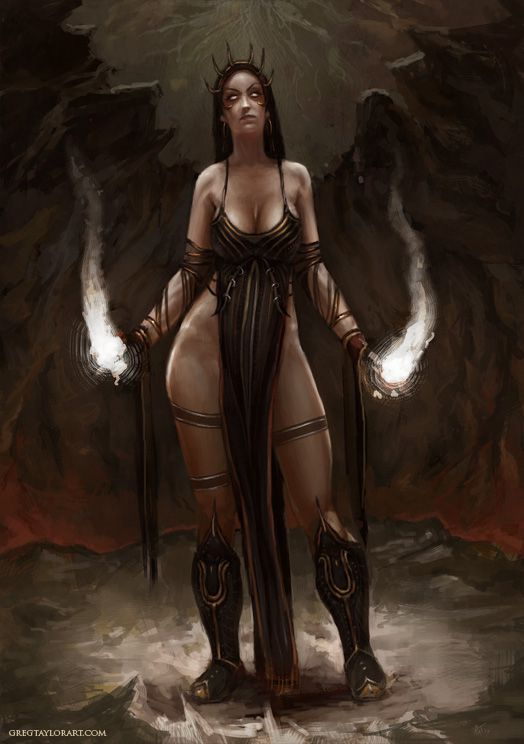 Naked fantasy character sex #6