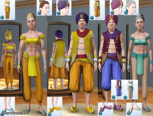 скачать мод на симс 3 на одежду и прически - фото 2