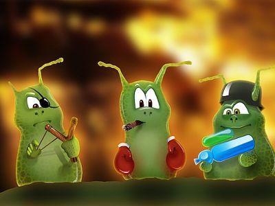 Красивые микробы