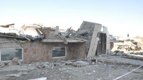 Обрушение дома в Караганде