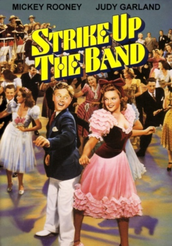 Играйте, музыканты / Strike Up the Band (Басби Беркли / Busby Berkeley) [1940, США, мюзикл, мелодрама, комедия, DVDRip] DVO