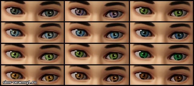 Глаза, линзы, брови для Sims 3 7730379fcf2d456f4d341f40690f5c63