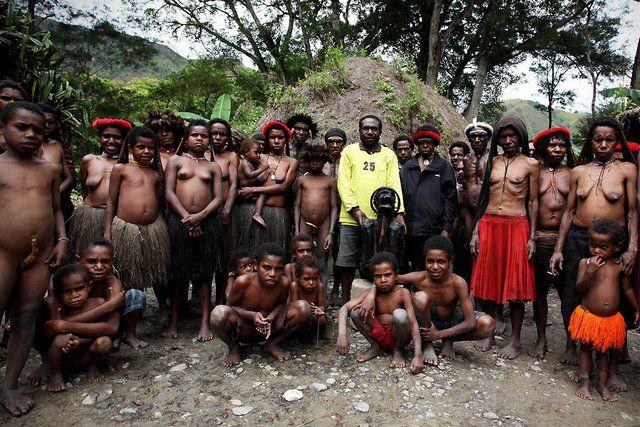 Племя Дани из Западной Папуа