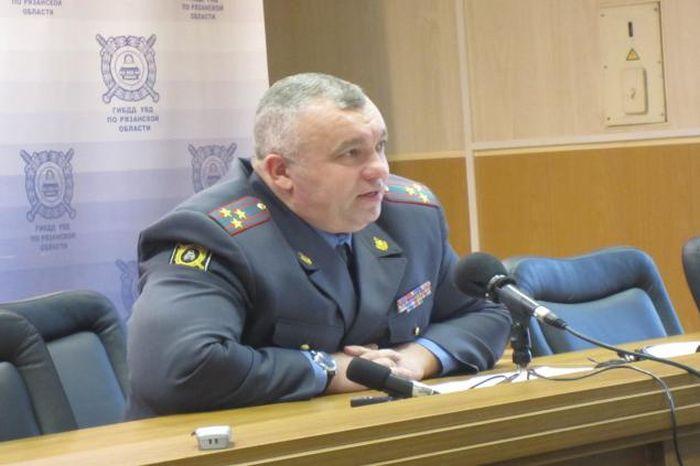 Александр Алфосов - начальник рязанского ГИБДД