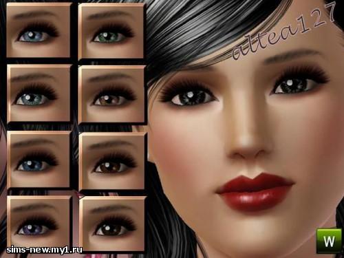 Глаза, линзы, брови для Sims 3 3fd0564726d423e4238117fbbfc6b80a