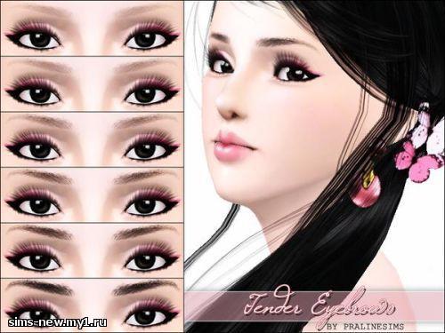 Глаза, линзы, брови для Sims 3 9b4169681258dfb4c788923a472a5c2a