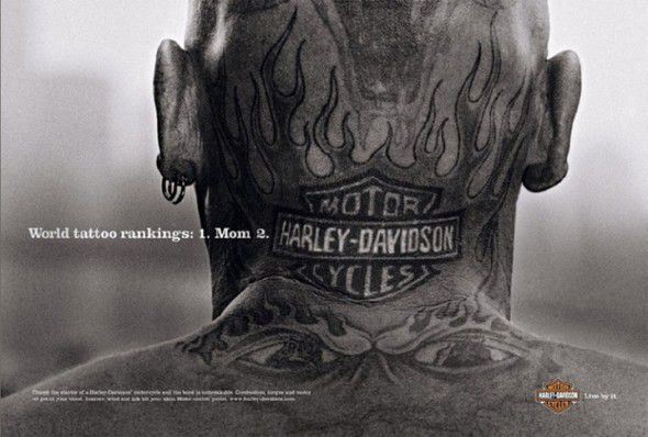 Реклама Harley Davidson