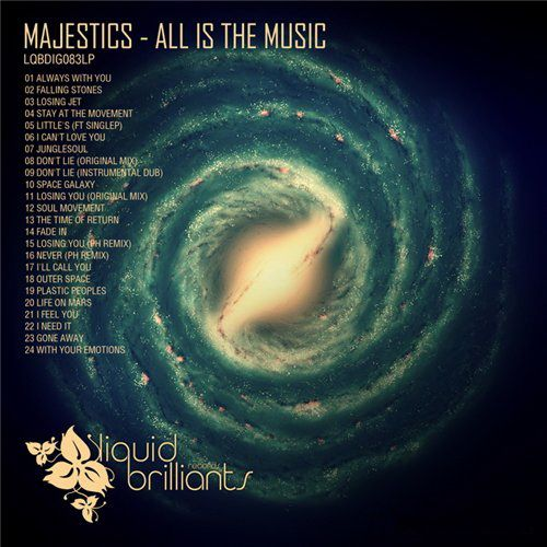 Majestics - All Is The Music (2012)