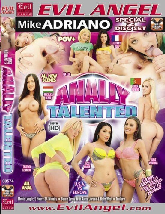 Анальные таланты / Anally Talented (2012) DVDRip. ЦЕЛКИ. Эротические расс