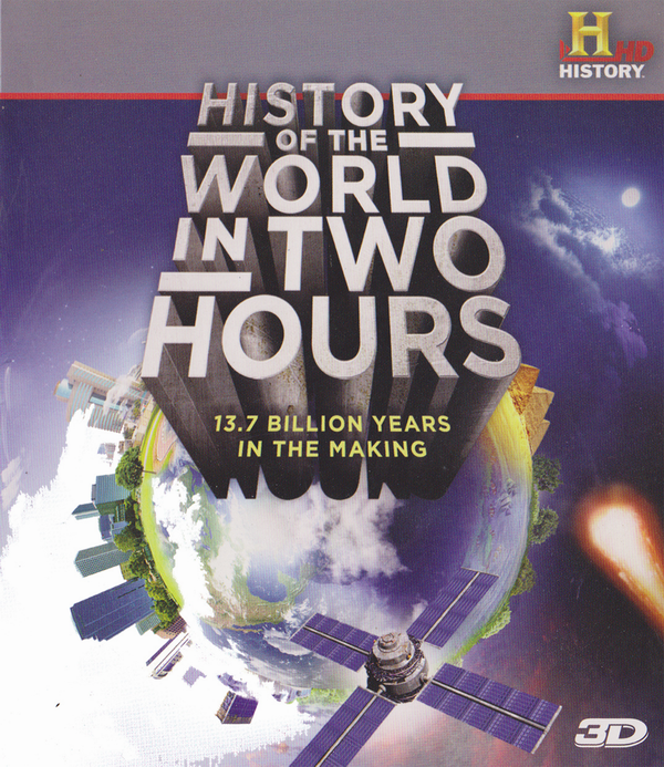 История мира в двух часах 3Д / History of the World in 2 Hours 3D (2011) [BDrip-AVC, Half OverUnder / Вертикальная анаморфная стереопара]